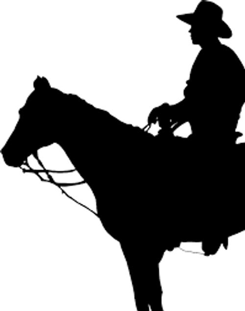 Reusable Stencils, Western Theme, Cowboys, Horses, Horseback