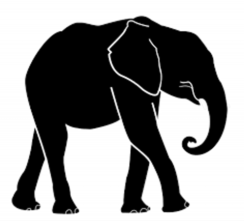 Reusable Stencils, Elephants, Paciderms, Safari Animals, Zoo, Circus, Animals