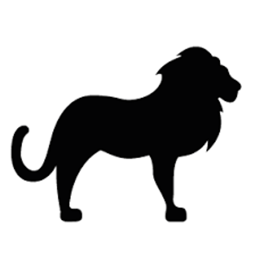 Reusable Stencils, Lions, Le Roi, Rex, King of the Jungle, African safari animals