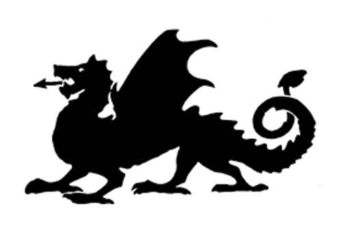 Reusable Stencils, Dragons, Medieval Monsters, Fantasy