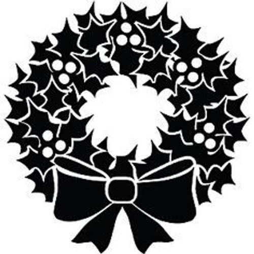 Reusable Stencils, Christmas Decor, Holiday Wreaths