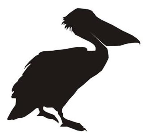 Reusable Stencils, Pelican, Coastal Birds
