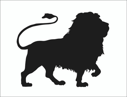 Reusable Stencils, Lion, Le Roi, Rex, King of the Jungle