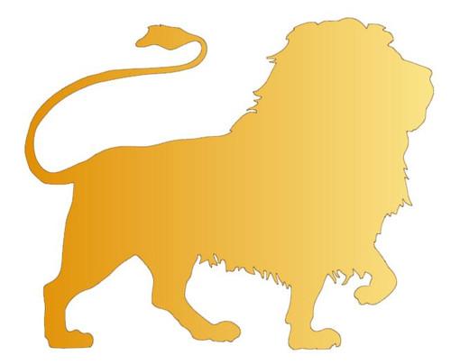 Reusable Stencils, Lion, Le Roi, Rex, King of the Jungle