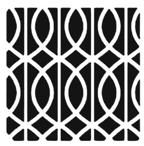 Reusable Stencils, Repeat Pattern Tile Design