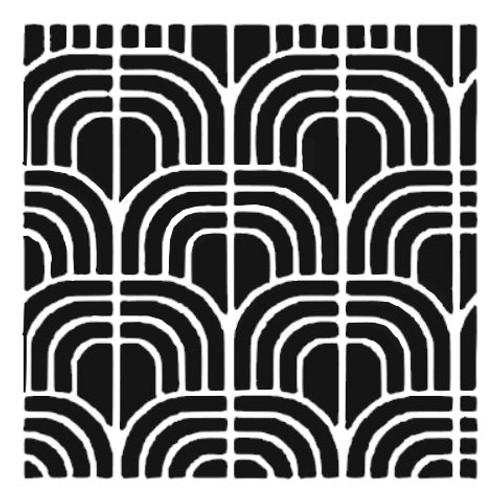 Reusable Stencils, Modern Tile Designs