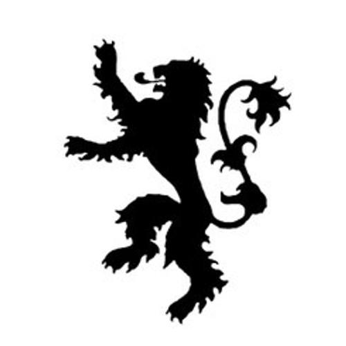 Reusable Stencils, Asian Lions, Rex, Roi