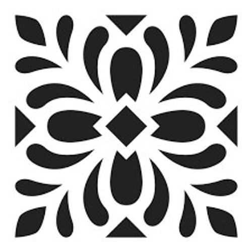Reusable Stencils, Italian Floor Tile Designs