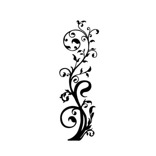 Reusable Stencils, Leafy Branches, Leaf Border, Leaves