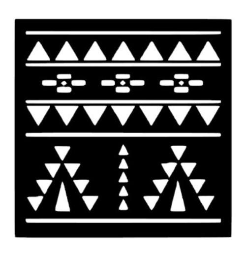 Reusable Stencils, Southwest Patterns