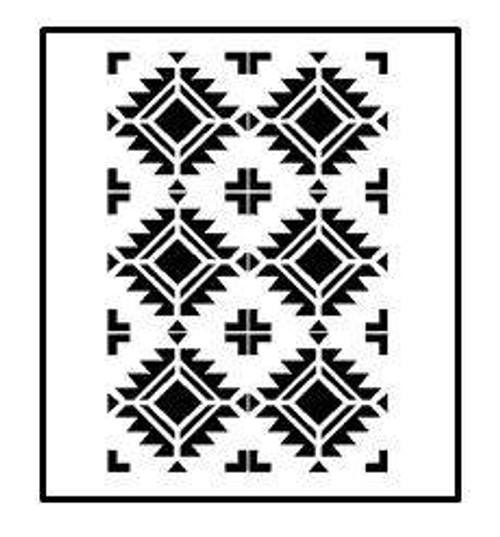 Reusable Stencils, Southwest Patterns