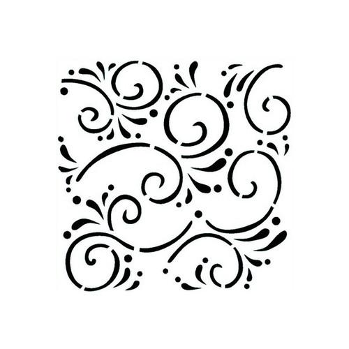 Reusable Stencils, Flourishes