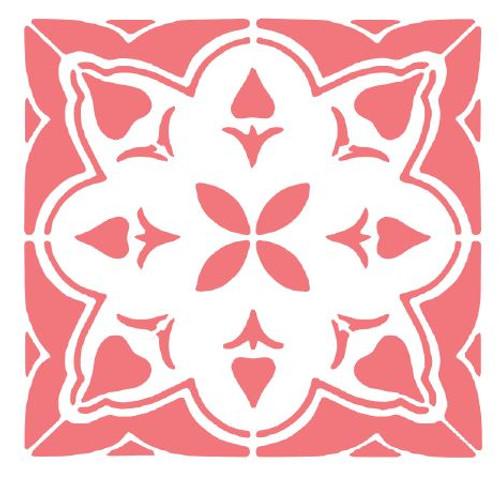 Reusable Stencils: Floor Tile Designs