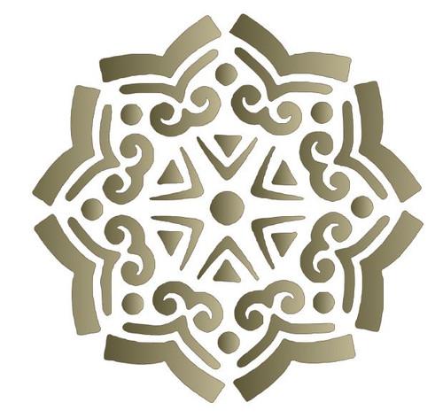 Reusable Stencils: Tile Designs