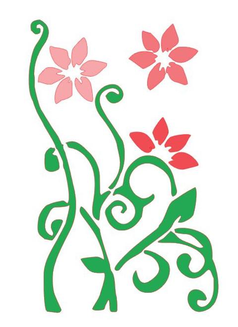 Reusable Stencils, Flowers, Florals, Blooms