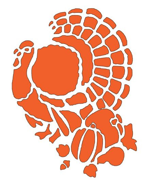 Reusable Stencils, Thanksgiving, turkey, pumpkins, Fall, Autumn harvest