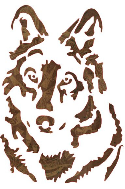 Reusable Stencils, Wolf, German Shepherd, Dog