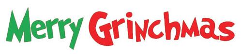 Reusable Stencils, Merry Grinchmas Signage