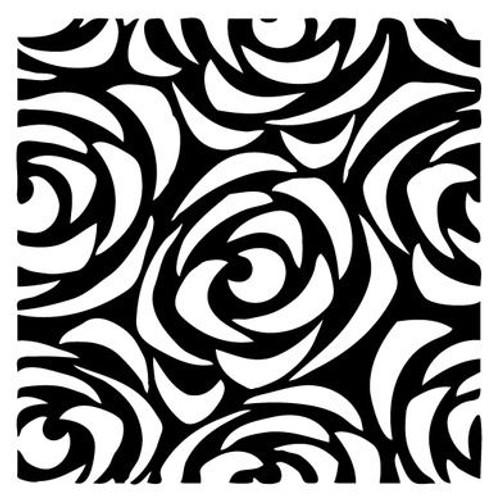 Reusable Stencils, Roses, Floral Background Patterns