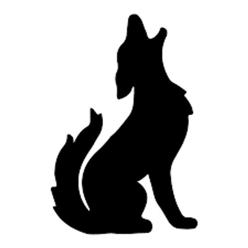 Reusable Stencils, Southwest Howling Wolf