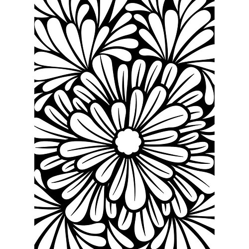 Reusable Stencils, Floral Backgrounds
