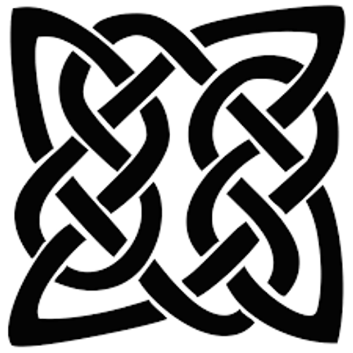 Reusable Stencils, Celtic Knot Designs