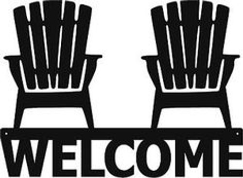 Reusable Stencils, Welcome Sign, Beach Chairs