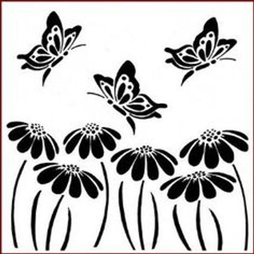 Reusable Stencils, Butterflies, Butterfly, Daisies, Daisy