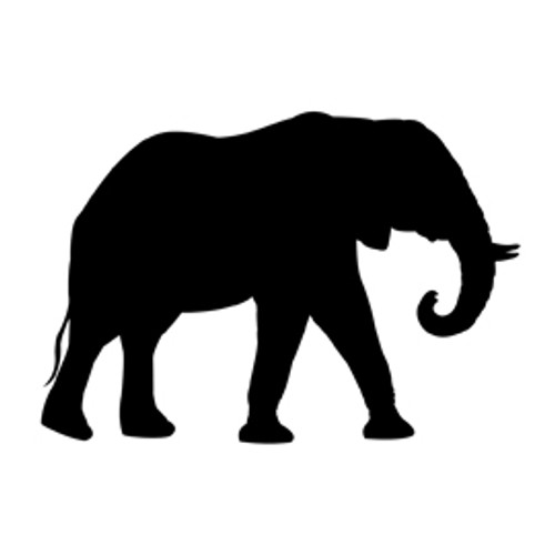 Stencil Elephant Animal Jungle Stencil for Projects Crafts Signs