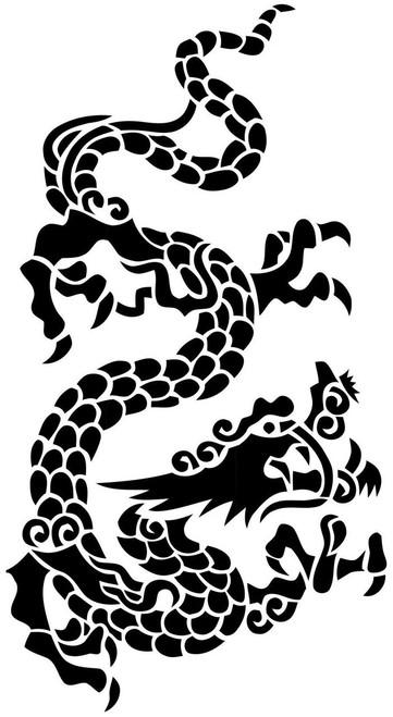 Reusable Stencils, Asian Dragons