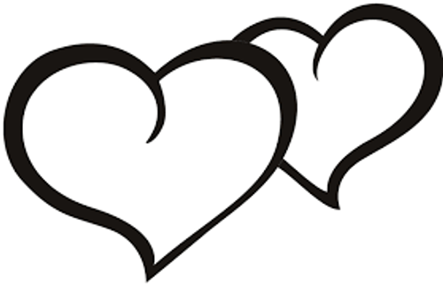 Reusable Stencils, Filigree Hearts, Love, Romance