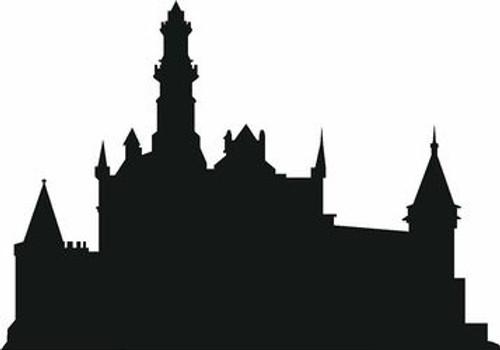 Reusable Stencils, Royal Palaces, Castles
