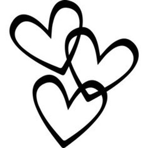 Reusable Stencils, Valentine's Hearts, Romance, Love