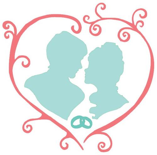 Reusable Stencils, Bridal Couple Wedding Decor