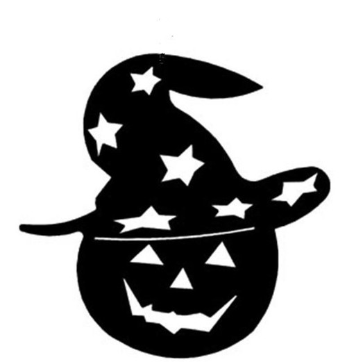 Reusable Stencils, Halloween Pumpkins, Jack-O-Lanterns