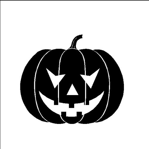 Reusable Stencils, Halloween, Jack-o-Lantern, Pumpkin, Decoration