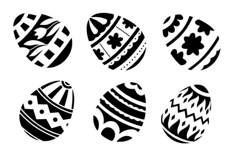Easter Eggs Shop 1 000 Art Stencil Designs