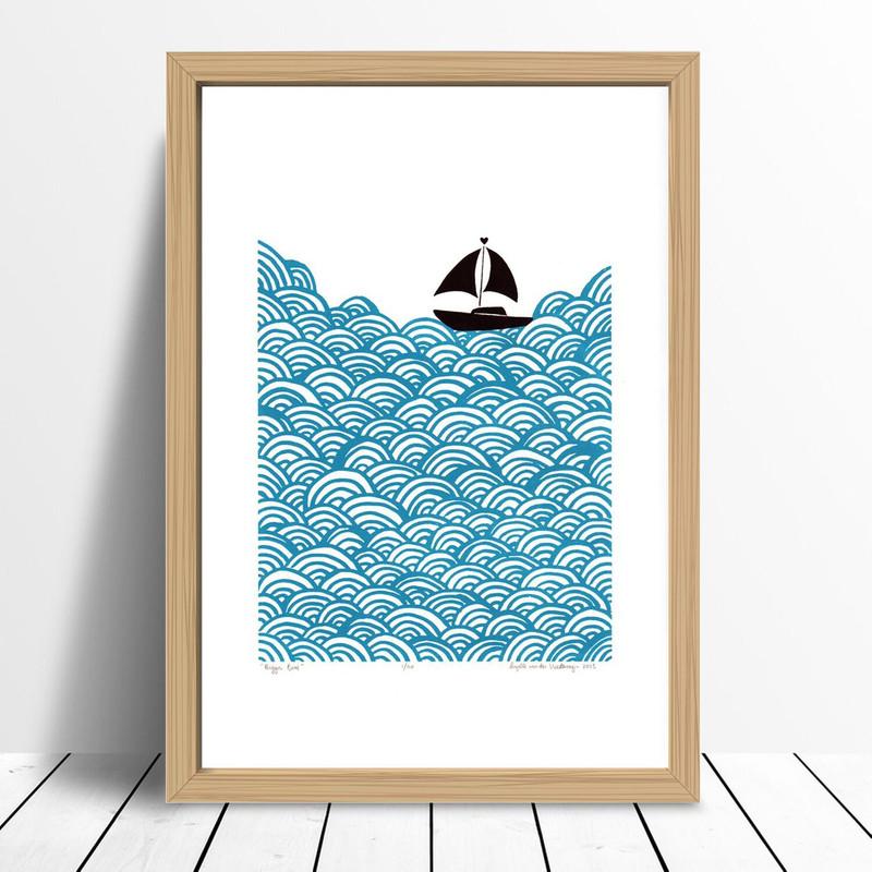 Bigger Boat, Teal