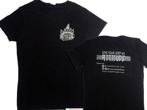 Jeep Attitude T Shirt Black