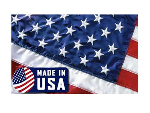 US Made Embroidered USA Flag 3 x 5