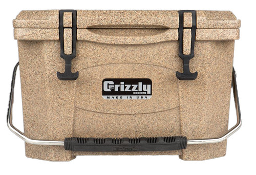 Jeep Attitude Cooler 20 Quart Ice Chest Hard-Sided JEEP EDITION - sandstone front