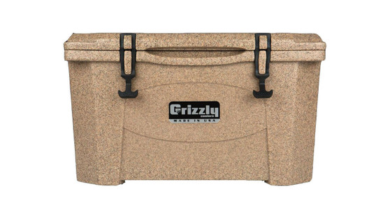 Jeep Attitude Cooler 40 Quart Ice Chest Hard-Sided JEEP EDITION - Sandstone front