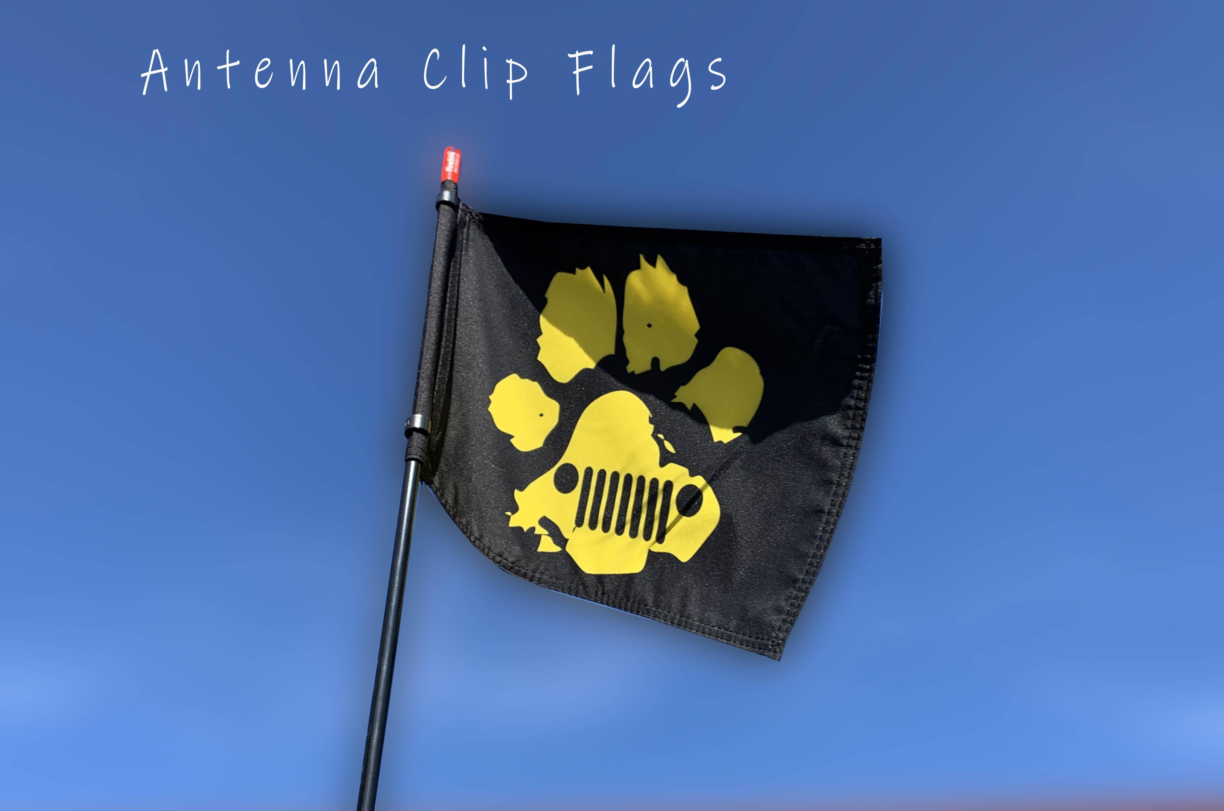 Antenna Clip Flag