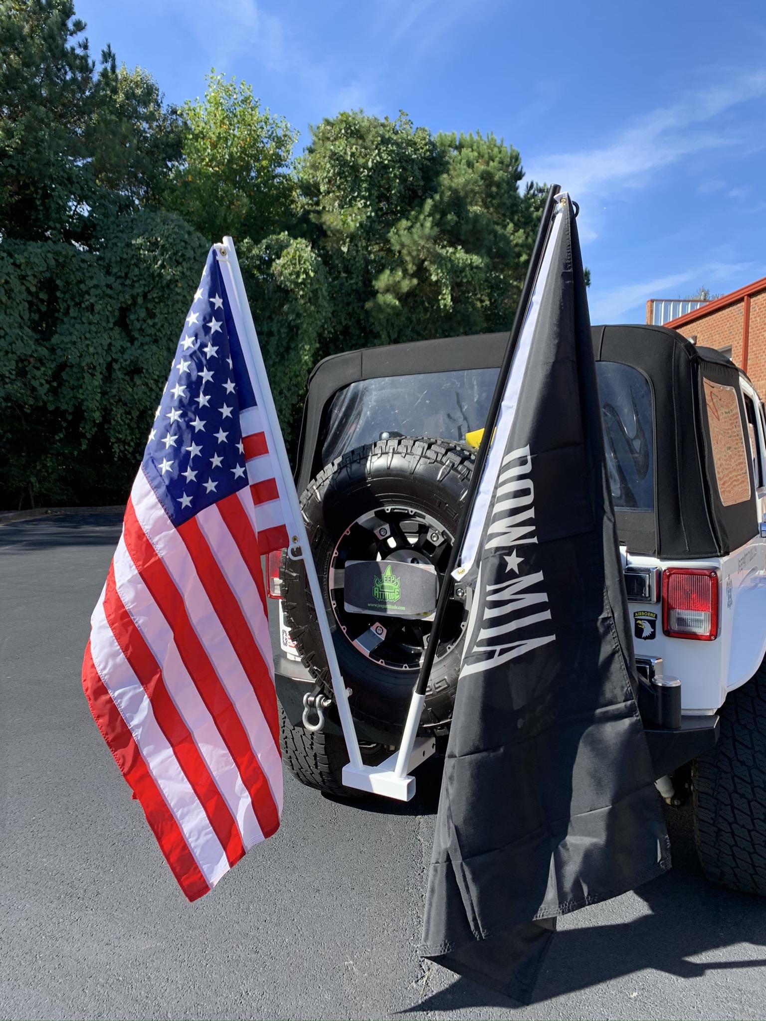 Custom USA POW 3x5 Flag