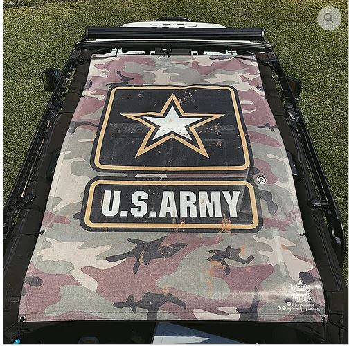 US Armed Forces Sunshade