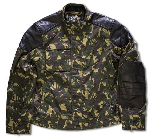 Roland Sands Design Truman Camo Jacket SAMPLE SIZE LG ONLY