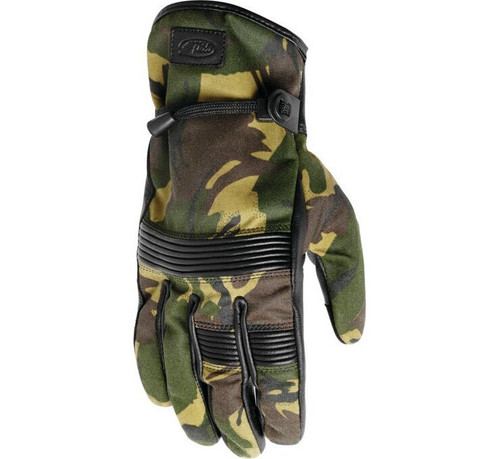 Roland Sands Design Truman Camo Gloves SAMPLE SIZE LG ONLY