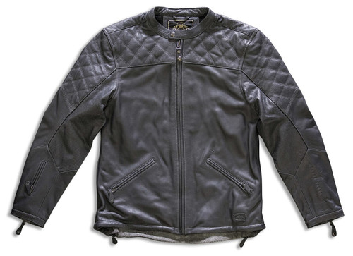 Roland Sands Design Rockingham Gunmetal Jacket SAMPLE SIZE LG ONLY