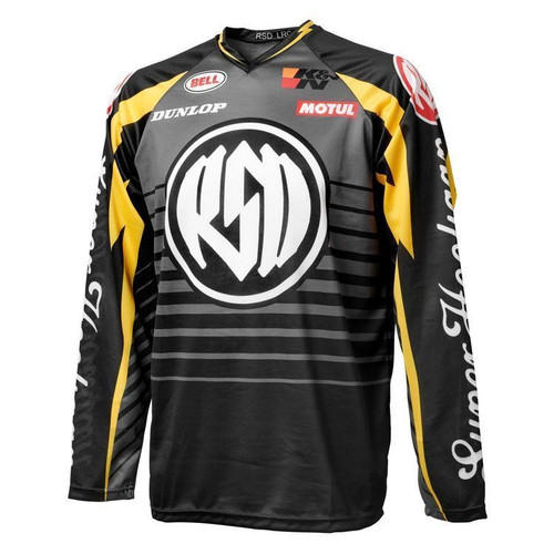 Roland Sands Design Lightening Hooligan Jersey SAMPLE SIZE LG ONLY