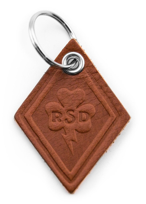 Roland Sands Design Diamond Clover Keychain